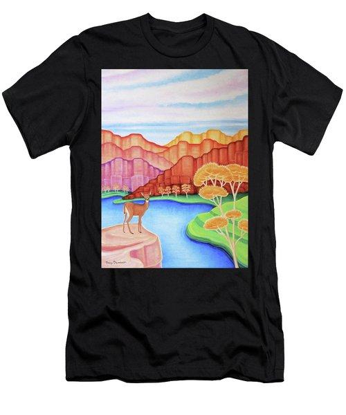 Land Of Enchantment Men's T-Shirt (Athletic Fit)