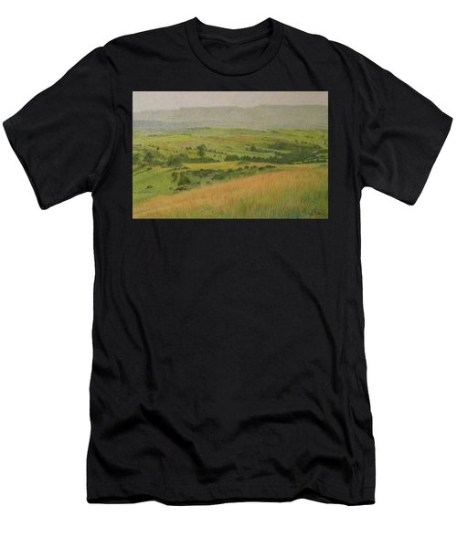 Land Of Grass Men's T-Shirt (Athletic Fit)