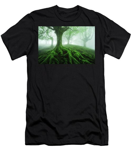 Land Of Roots Men's T-Shirt (Athletic Fit)