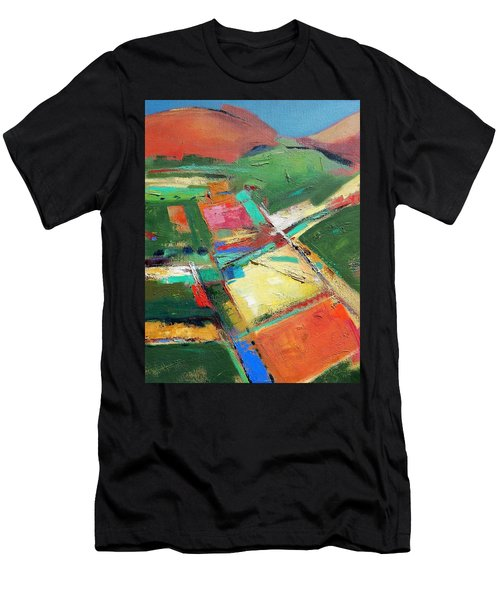 Land Patches Men's T-Shirt (Athletic Fit)