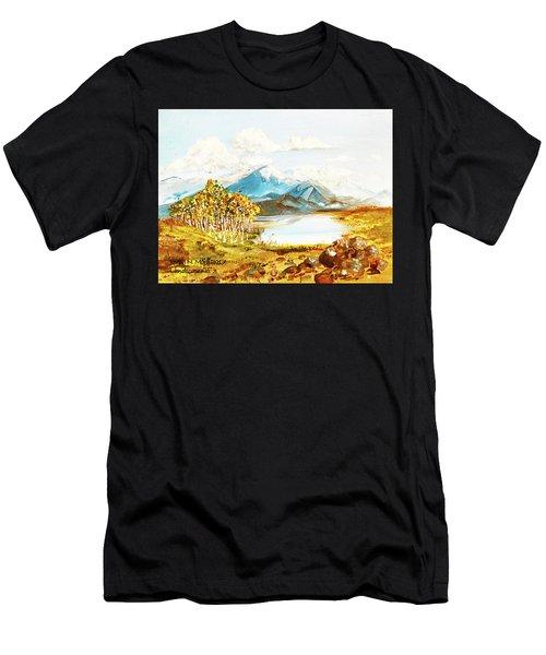 Land Scape No.-3 Men's T-Shirt (Athletic Fit)