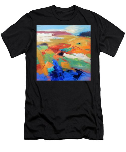 Landforms, Suggestion Of Place Men's T-Shirt (Athletic Fit)