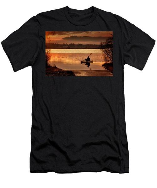 Landing Men's T-Shirt (Slim Fit) by Phil Mancuso