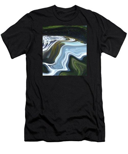 Lands End Men's T-Shirt (Slim Fit) by Kerri Ligatich