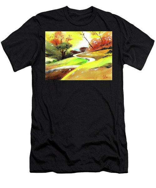 Landscape 6 Men's T-Shirt (Athletic Fit)