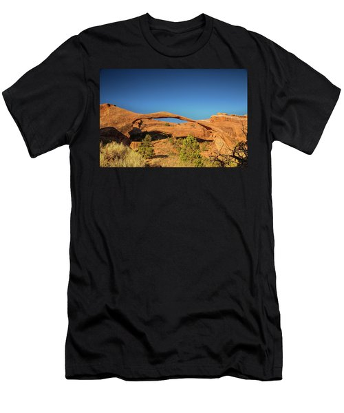 Landscape Arch Sunrise Men's T-Shirt (Athletic Fit)