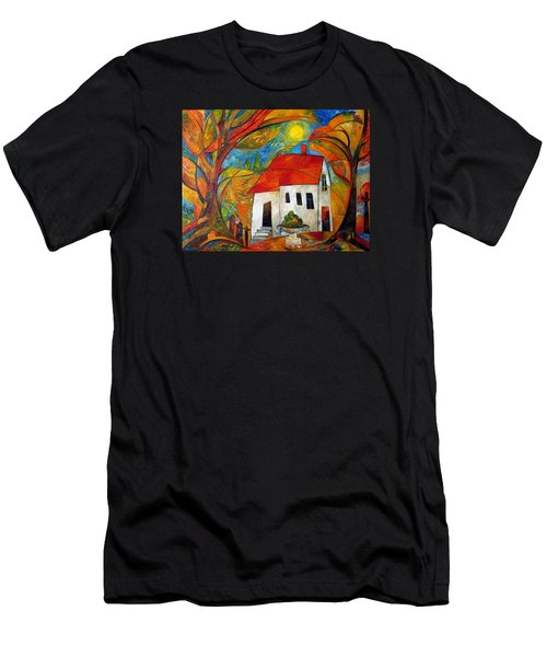 Landscape With The House Men's T-Shirt (Athletic Fit)