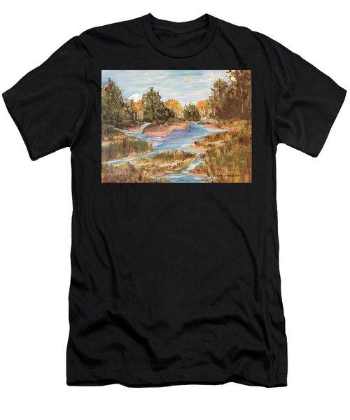 Landscape_1 Men's T-Shirt (Athletic Fit)