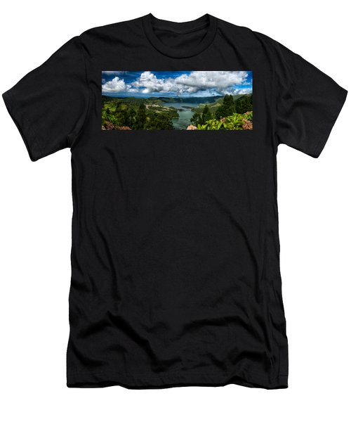 Landscapespanoramas015 Men's T-Shirt (Athletic Fit)