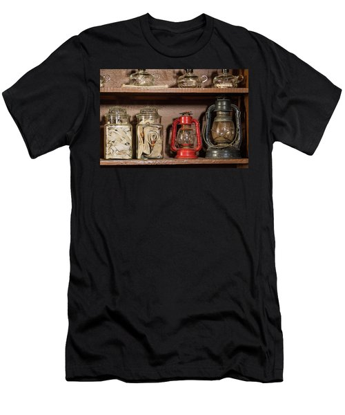 Lanterns And Wicks Men's T-Shirt (Slim Fit) by Jay Stockhaus