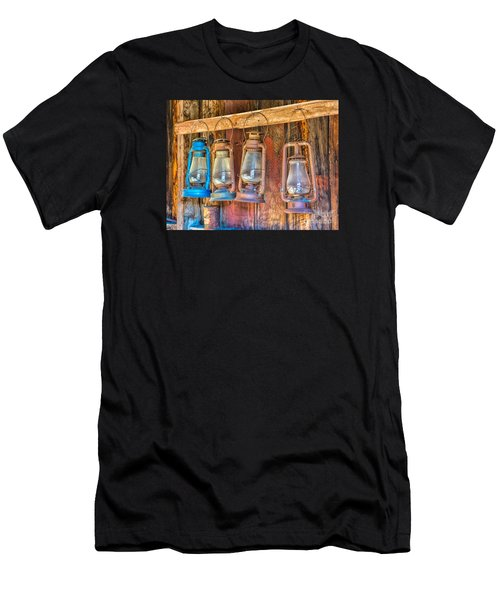 Lanterns In The Bodie Firehouse Men's T-Shirt (Athletic Fit)