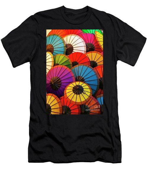 Laos_d639 Men's T-Shirt (Athletic Fit)