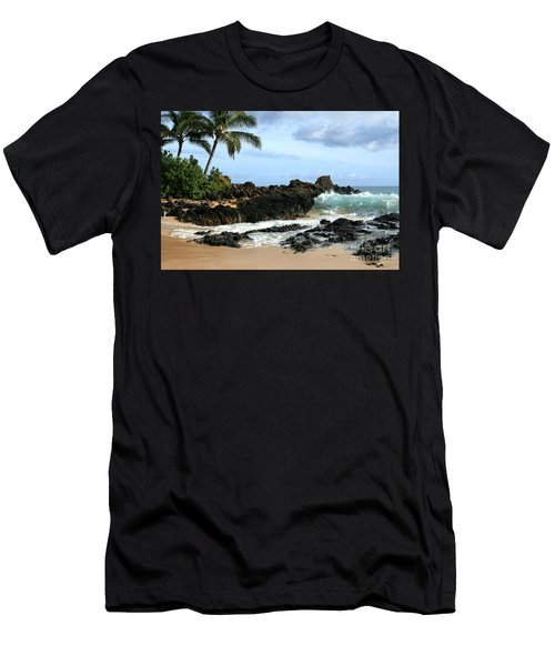 Lapiz Lazuli Stone Aloha Paako Aviaka Men's T-Shirt (Athletic Fit)