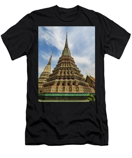 Large Colorful Stupa At Wat Pho Men's T-Shirt (Athletic Fit)