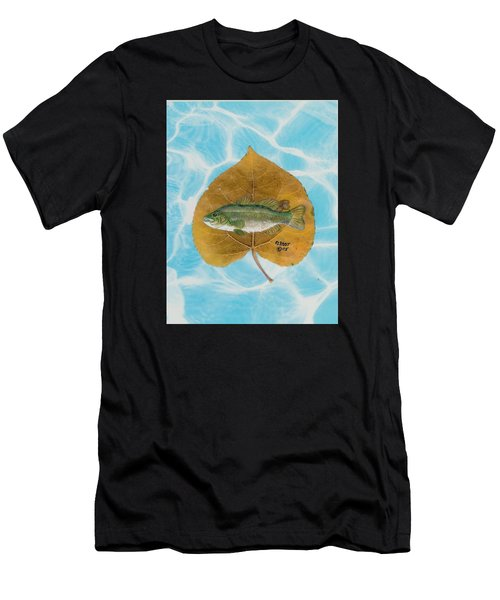 Large Mouth Bass #2 Men's T-Shirt (Athletic Fit)