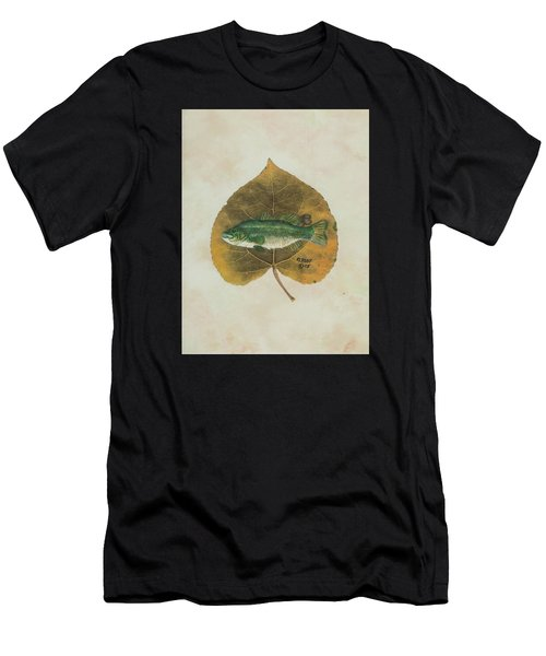 Large Mouth Bass Men's T-Shirt (Athletic Fit)