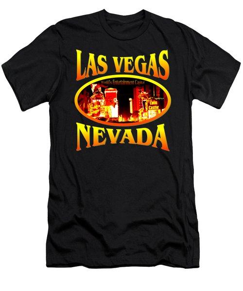 Las Vegas Nevada Design Men's T-Shirt (Athletic Fit)