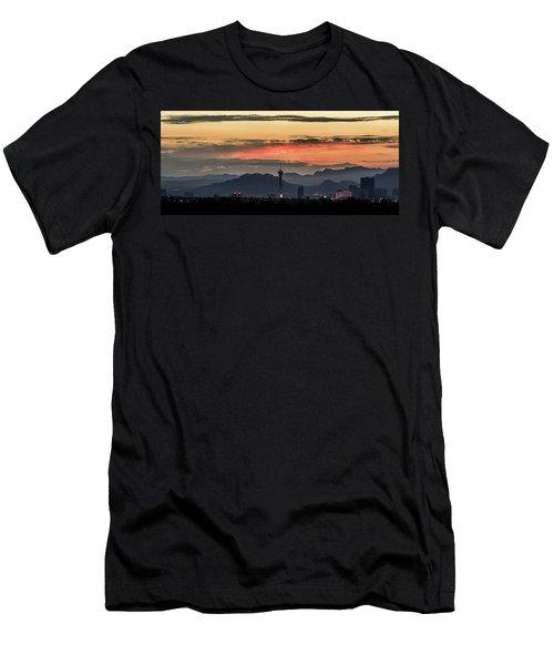 Las Vegas Sunrise July 2017 Men's T-Shirt (Athletic Fit)