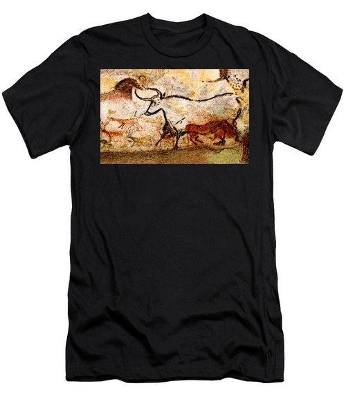 Lascaux Hall Of The Bulls - Aurochs Men's T-Shirt (Athletic Fit)