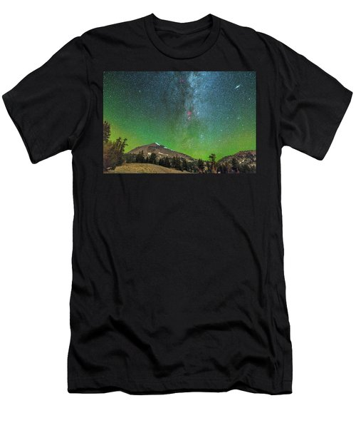 Lassen Nights Men's T-Shirt (Athletic Fit)