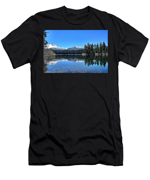 Lassen Volcanic National Park Men's T-Shirt (Athletic Fit)