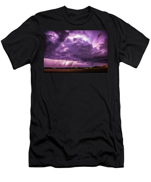 Last Chace Lightning For 2017 006 Men's T-Shirt (Athletic Fit)