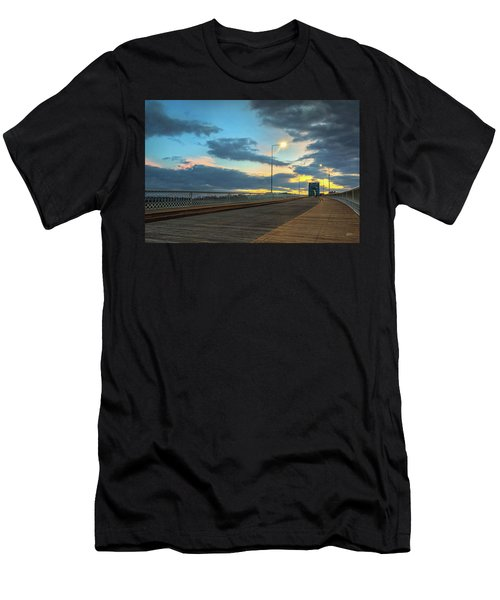 Last Light And Color Over Walnut Men's T-Shirt (Athletic Fit)
