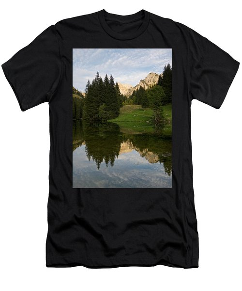 Last Light At Lac De Fontaine Men's T-Shirt (Athletic Fit)