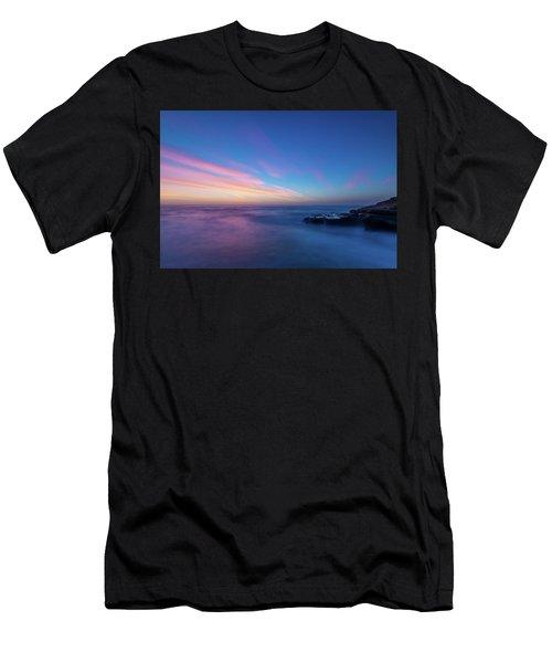 Last Light In April, Sunset Clifs Men's T-Shirt (Athletic Fit)