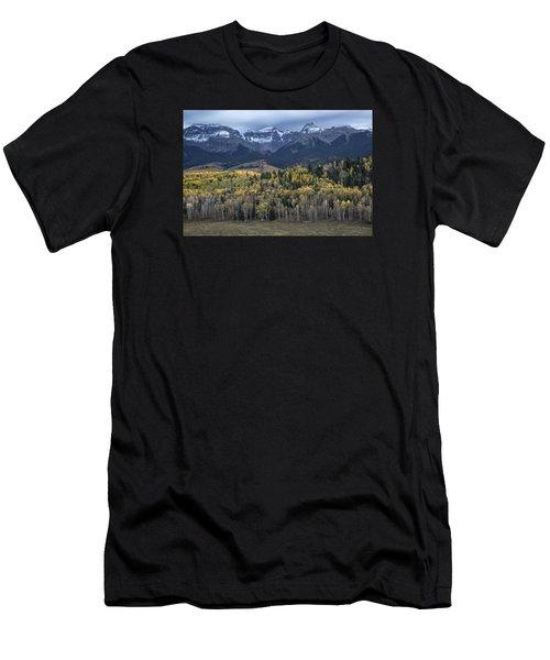 Last Light On Autumn Aspens Men's T-Shirt (Athletic Fit)