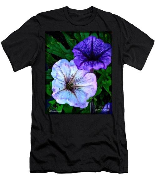 Last Of The Petunias   Men's T-Shirt (Athletic Fit)