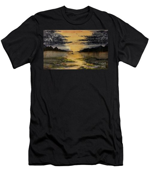 Last One Out Men's T-Shirt (Athletic Fit)