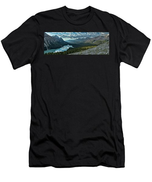 Last Rays Of Light Over Peyto Lake Men's T-Shirt (Athletic Fit)