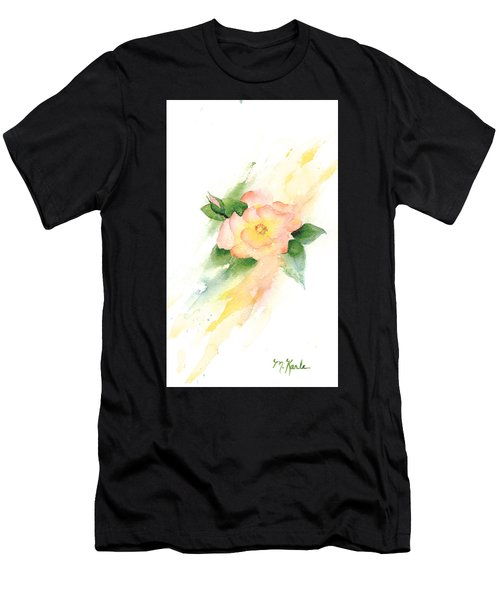 Last Rose Of Summer Men's T-Shirt (Athletic Fit)