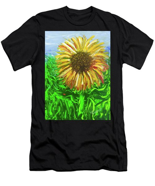 Last Sunflower Men's T-Shirt (Athletic Fit)