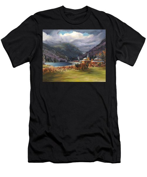 Last Train To Crawford Notch Depot Men's T-Shirt (Athletic Fit)