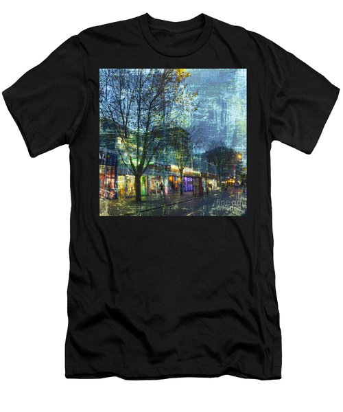 Late Afternoon In Autumn Men's T-Shirt (Athletic Fit)