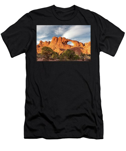 Late Afternoon Light On Skyline Arch Men's T-Shirt (Athletic Fit)