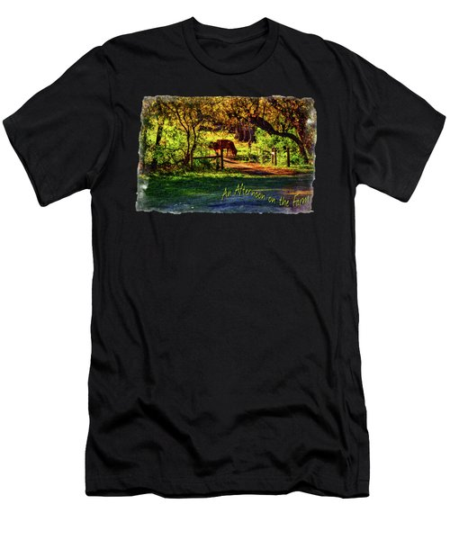 Late Afternoon On The Farm Men's T-Shirt (Athletic Fit)
