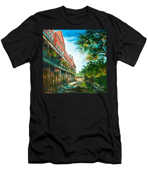 Late Afternoon On The Square Men's T-Shirt (Athletic Fit)