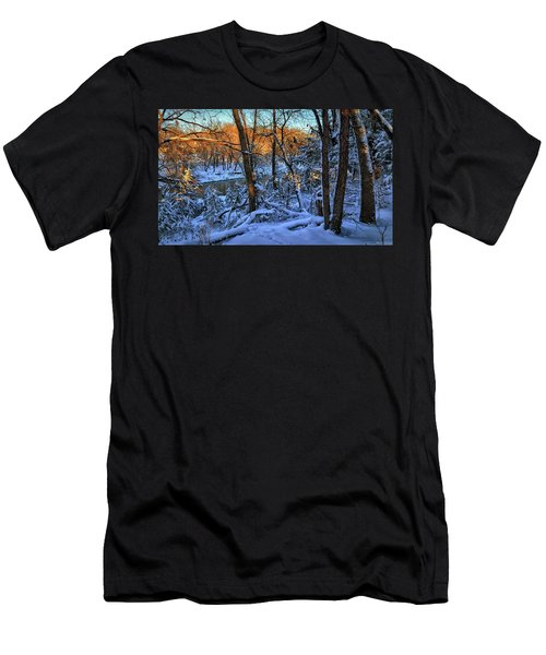 Late Afternoon Winter Light Men's T-Shirt (Athletic Fit)