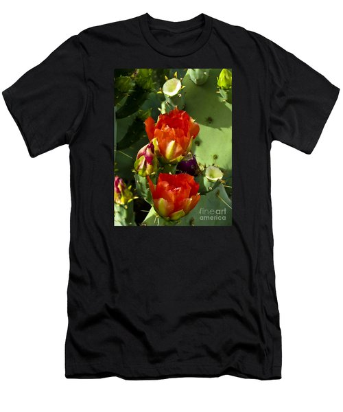 Late Bloomer Men's T-Shirt (Slim Fit) by Kathy McClure
