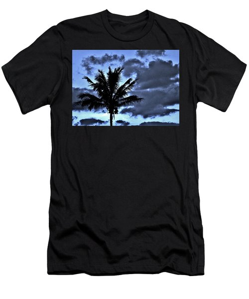 Late Day Palm Men's T-Shirt (Athletic Fit)