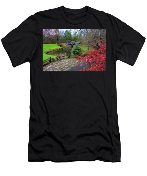 Late Fall At Mabry Mill Men's T-Shirt (Athletic Fit)