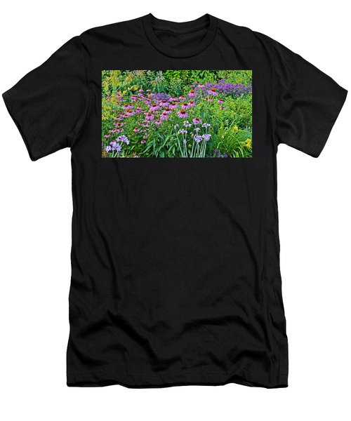 Late July Garden 2 Men's T-Shirt (Athletic Fit)