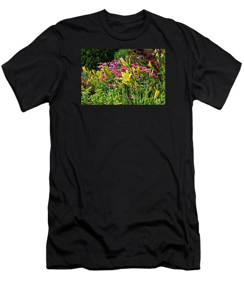 Late July Garden 1 Men's T-Shirt (Athletic Fit)