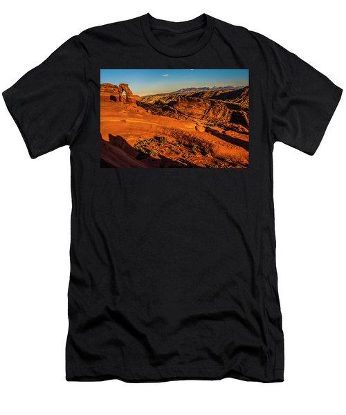 Late Light Men's T-Shirt (Athletic Fit)