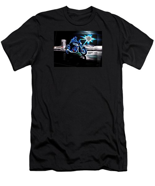 Late Night Street Racing Men's T-Shirt (Athletic Fit)