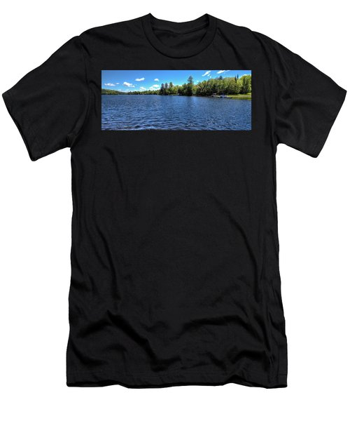 Late Spring On 6th Lake Men's T-Shirt (Athletic Fit)