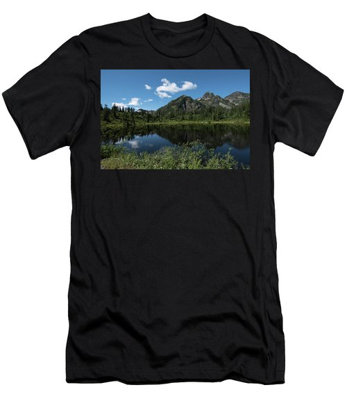 Late Spring Peaks Men's T-Shirt (Athletic Fit)